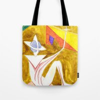 Anchoring the Sky Tote Bag