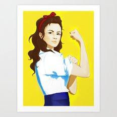 The new Rosie Art Print