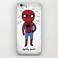 Super Cute Heroes: Spide… iPhone & iPod Skin