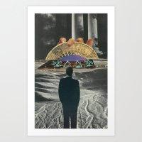 Strange Cities: The Bava… Art Print