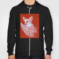 White Bat Hoody