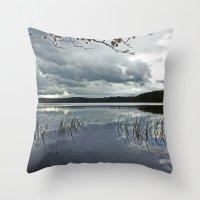Loch Garten, Scotland.  Throw Pillow