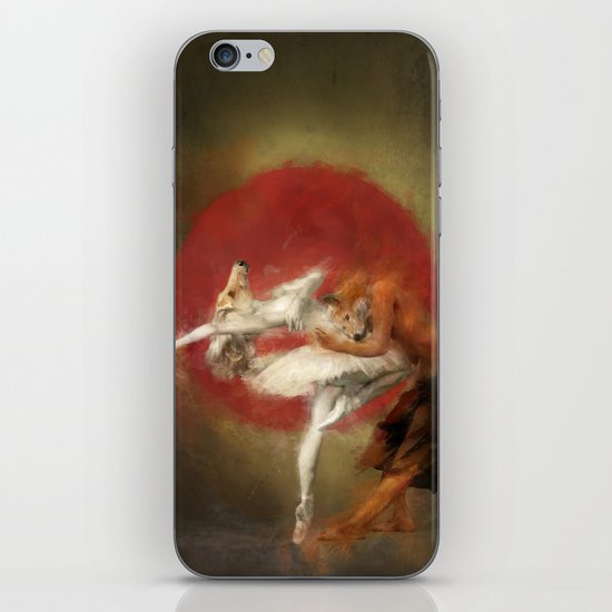 Kitsune Ballet iPhone & iPod Skin