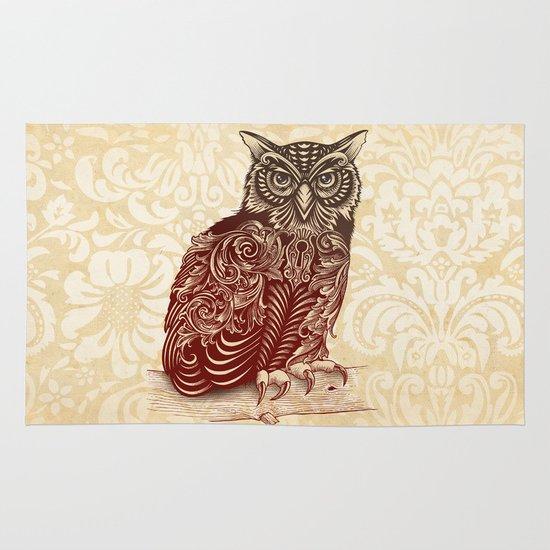 Most Ornate Owl Area & Throw Rug