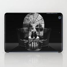 Room Skull B&W iPad Case