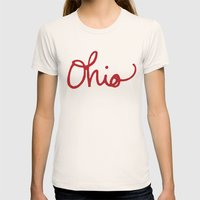 Ohio Womens Fitted Tee Natural SMALL