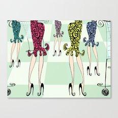 Ooh La La! Canvas Print