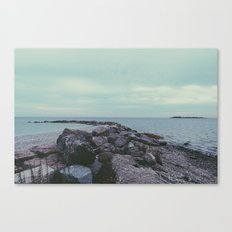 beachy. Canvas Print