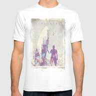 Explorers III Mens Fitted Tee White SMALL