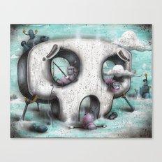 Channel Zero Canvas Print