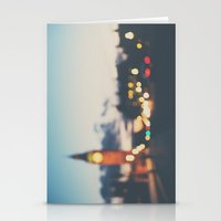 london lights Stationery Cards