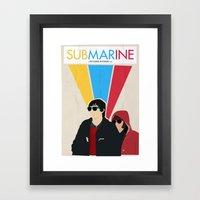 Submarine Movie Poster Framed Art Print