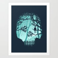 Don't Look Back In Anger Art Print