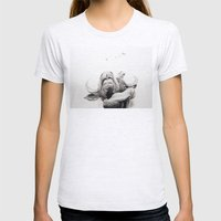 Boeing V-22 Osprey  Womens Fitted Tee Ash Grey SMALL