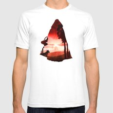 Red Riding Hood (dark Ve… Mens Fitted Tee White SMALL