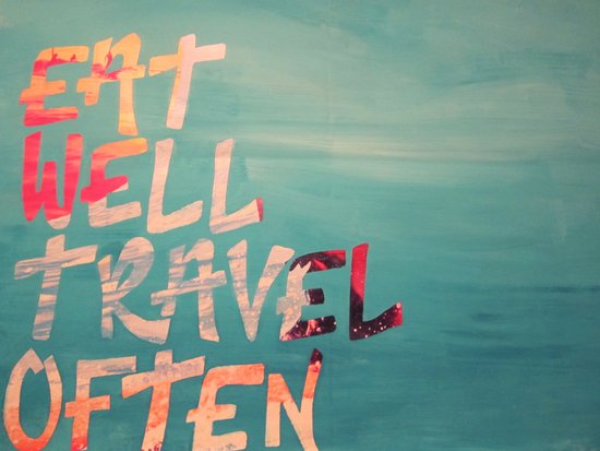 EatWell. TravelOften Art Print