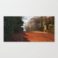 Church Lane, Harewood 3 Canvas Print