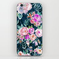 PROFUSION FLORAL - MIDNIGHT iPhone & iPod Skin