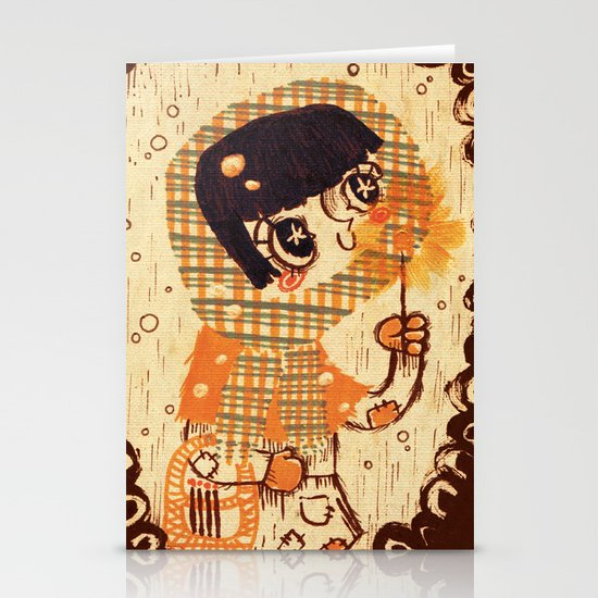 The Little Match Girl Stationery Card