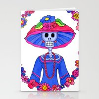 Catrina Doña Adela Stationery Cards