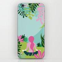 Yoga Garden iPhone & iPod Skin