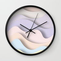 Wave I Wall Clock