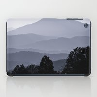 Misty morning at the Smoky's iPad Case
