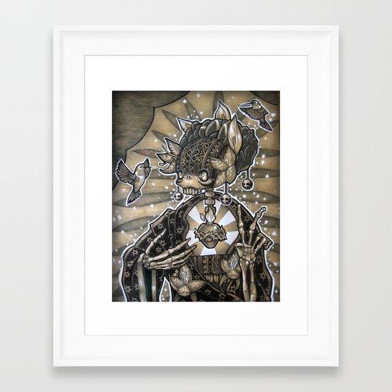 Madre Naturaleza Framed Art Print