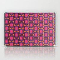 Retro Bloom Purple 4 Laptop & iPad Skin