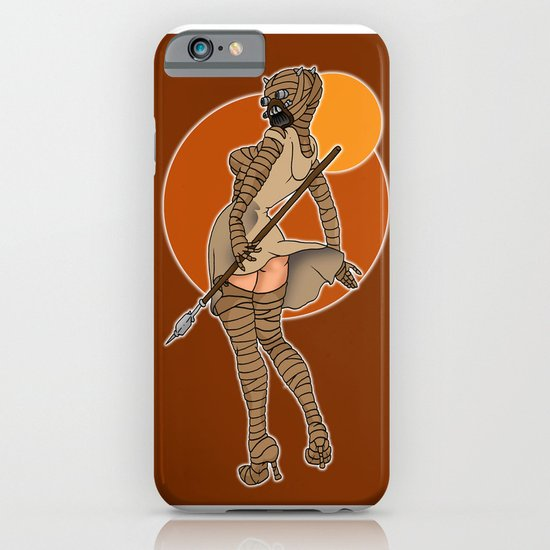 Star Wars tusken pinup iPhone & iPod Case