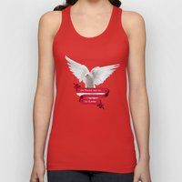 His Banner over me is Love2 Unisex Tank Top
