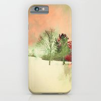 iPhone & iPod Case featuring Winter Settlement by Caleb Troy