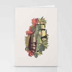 Jurassic Car Stationery Cards
