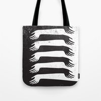 Reach Out Tote Bag