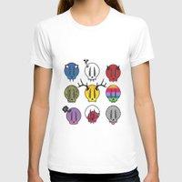 skulls T-shirts featuring Skulls by Aillustrations