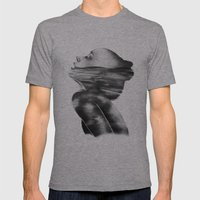 Dissolve // Illustration Mens Fitted Tee Athletic Grey SMALL
