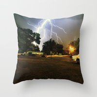 Benzo Throw Pillow