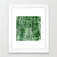 GRATTAGE Framed Art Print
