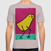 L. Bird Mens Fitted Tee Cinder SMALL