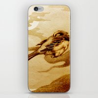 Sparrow By Moonlight iPhone & iPod Skin