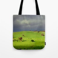 Following The Fence Line… Tote Bag