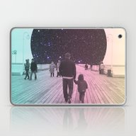 Laptop & iPad Skin featuring Moon Walk by Calepotts