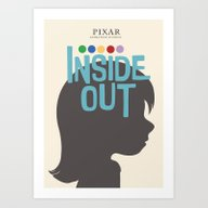 Inside Out - Minimal Mov… Art Print