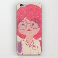 Sciency Bubblegum! iPhone & iPod Skin
