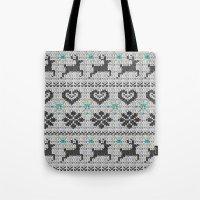 Scandinavian Knitting (B… Tote Bag