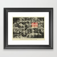 Love In These Golden Pav… Framed Art Print