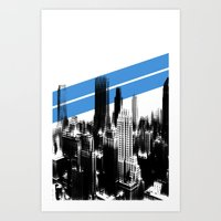 Tripping London. Art Print