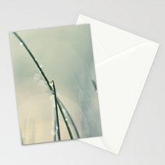 grass bokeh Stationery Cards