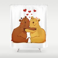 All my love is for you Shower Curtain