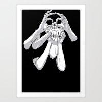 Fingers & Thumbs Art Print